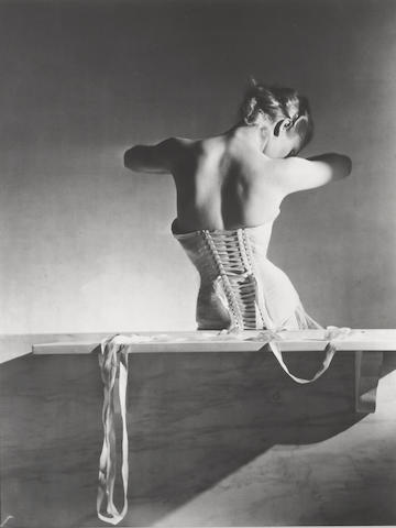 Horst P. Horst (German/American, 1906-1999); Mainbocher Corset, Paris;