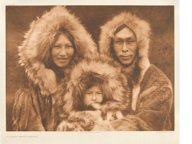 Edward S. Curtis (American, 1868-1952); Selected Images, from The North American Indian; (6)