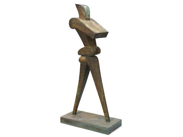 Sorel Etrog (Canadian, born 1933) Standing Figure 63 3/8 x 29 1/8 x 13 9/16in (161 x 74 x 34.5cm)