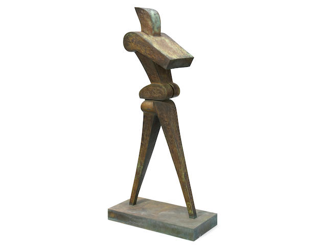 Sorel Etrog (Canadian, born 1933) Rushman, 1974-1976 62 x 29 1/8 x 13 9/16in (157.5 x 74 x 34.5cm)