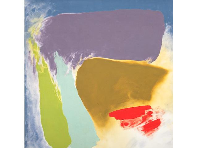 Friedel Dzubas: San Bivar Signal, 1979, acrylic on canvas