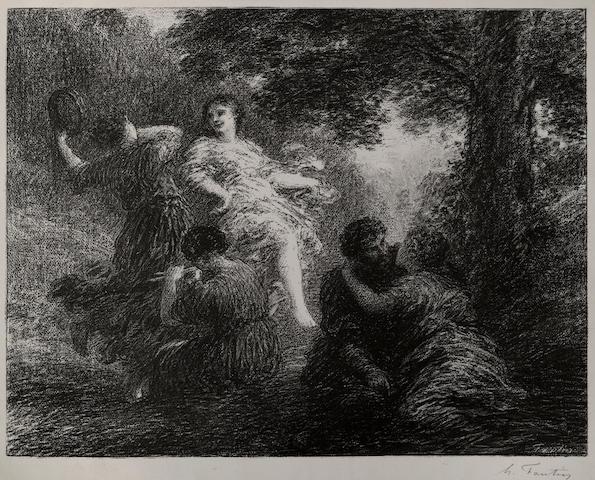 Henri Fantin-Latour (French, 1836-1904); Pastorale;