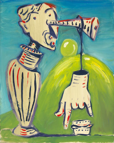 George Condo, Swiss Juice