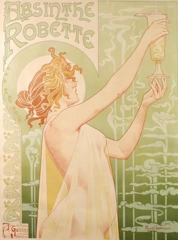 Privat Livemont (Belgian, 1861-1936); Absinthe Robette;