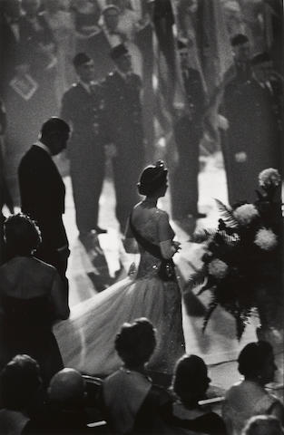 Burt Glinn (American, 1925-2008); Queen Elizabeth II on Her Visit to America, New York ;