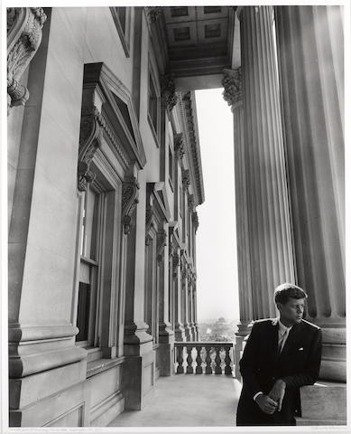 Arnold Newman (American, 1918-2006); Senator John F. Kennedy, The Capitol, Washington D.C;