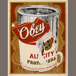 Shepard Fairey (American, born 1970); Soup Can I, from the Beautiful Losers Portfolio;