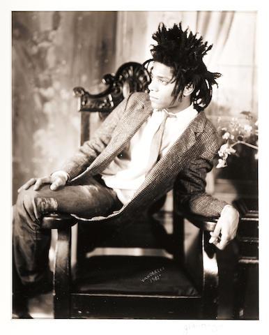 James Van Der Zee (American, 1886-1983); Jean-Michel Basquiat;