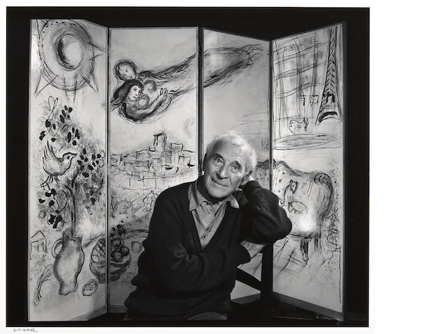 Yousuf Karsh (Canadian, 1908-2002); Marc Chagall;