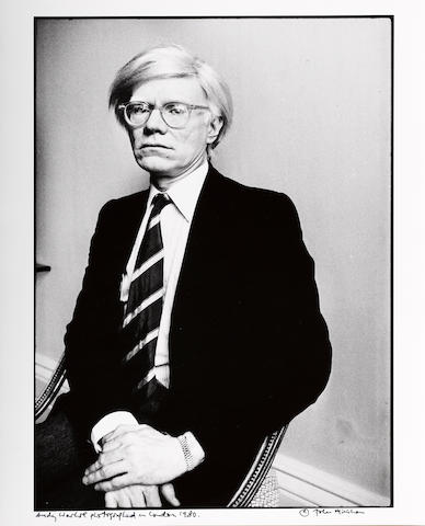 John Minihan (Irish, born 1946); Andy Warhol, London;