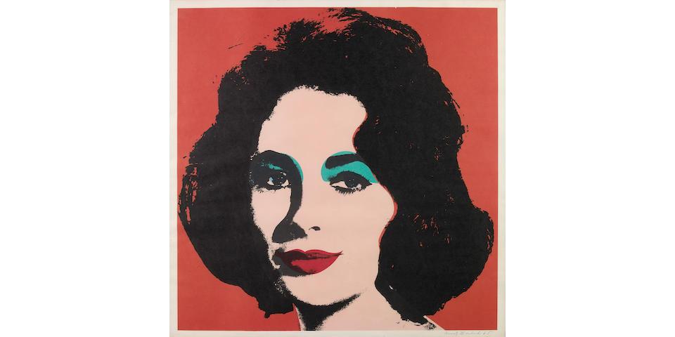 Andy Warhol (American, 1928-1987); Liz;