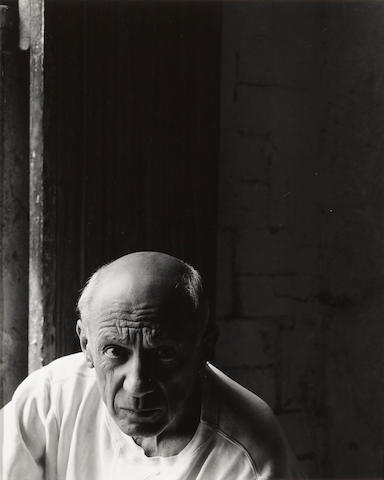 Arnold Newman (American, 1918-2006); Picasso;