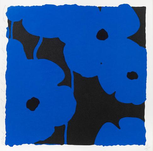 Donald Sultan (American, born 1951); Blues, Sept 24;