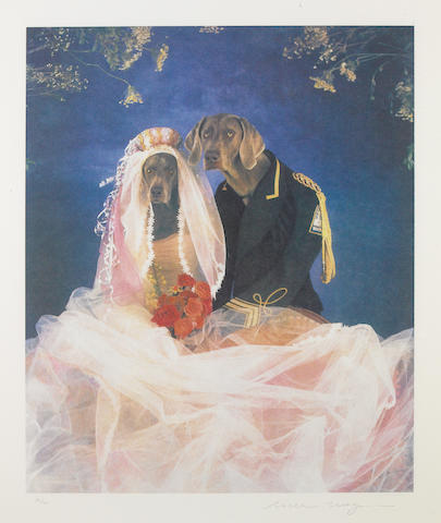 William Wegman (American, born 1943); Cinderella and the Prince, from Cinderella;