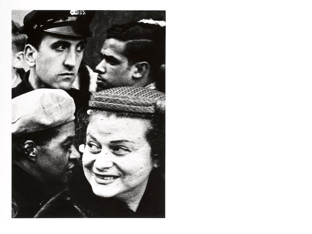 William Klein (American, born 1928); Four Heads, New York;