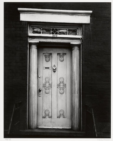 Walker Evans (American, 1903-1975); Doorway, 204 West 13th Street, New York City;