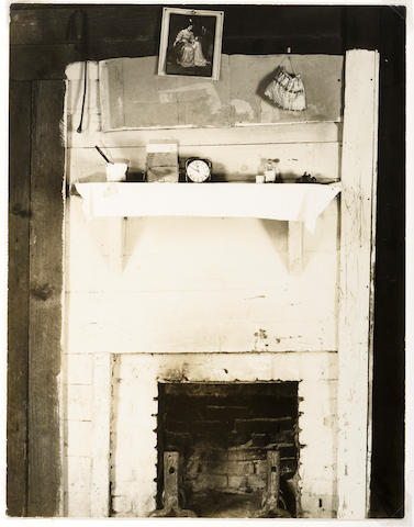 Walker Evans (American, 1903-1975); Floyd Burrough's Bedroom, Hale County, Alabama;