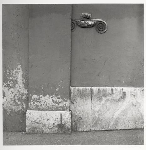 Harry Callahan (American, 1912-1999); Rome, Italy;
