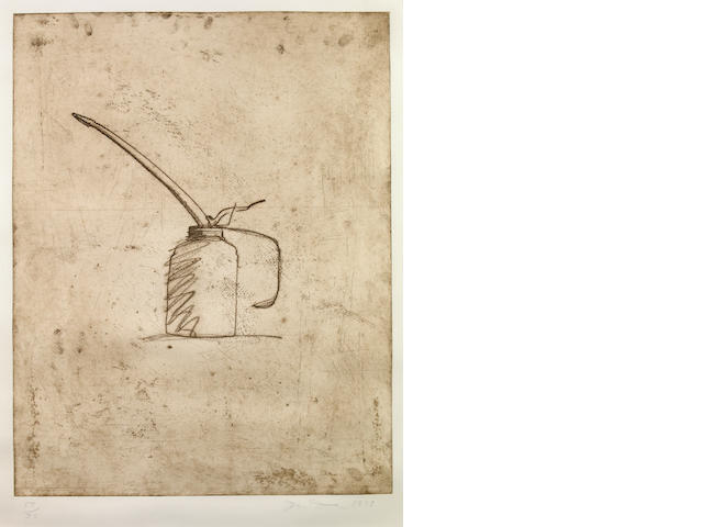 Jim Dine (American, born 1935); Oil Can;