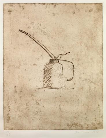 Jim Dine (American, born 1935); Oil Can;