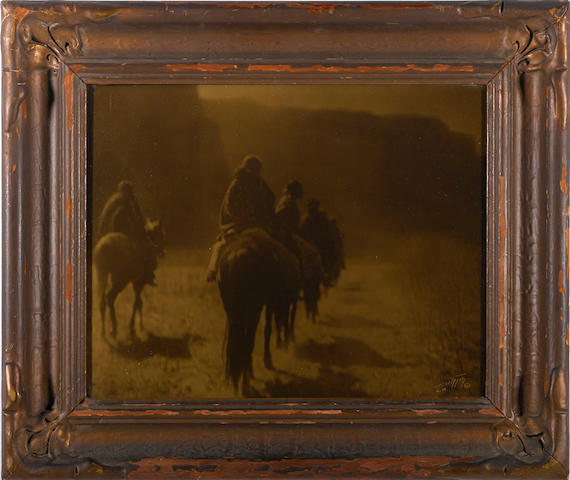 Edward S. Curtis (American, 1868-1952); The Vanising Race, Navaho;
