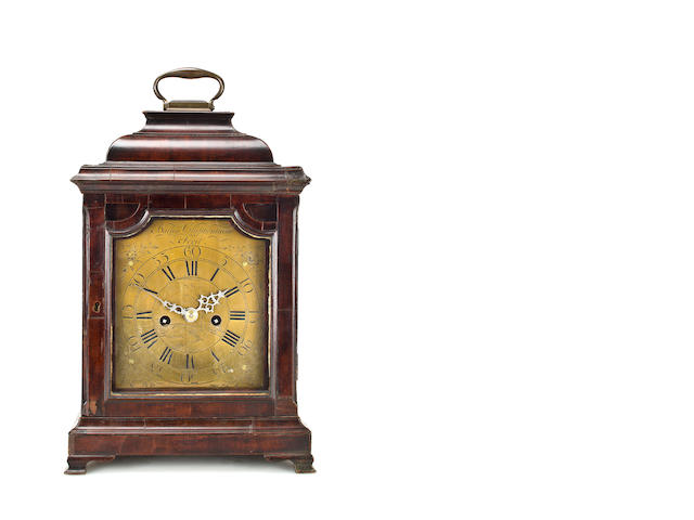 an English 18th century bracket clock