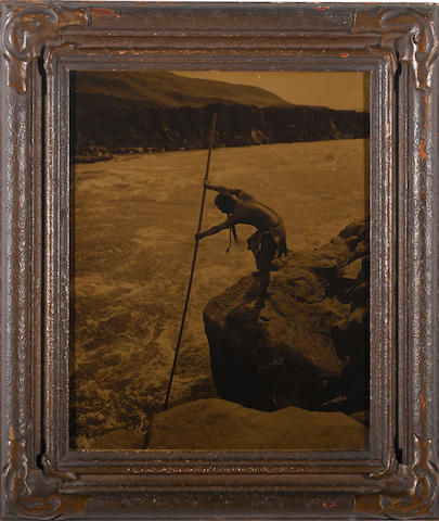 Edward S. Curtis (American, 1868-1952); The Fisherman-Wishham;