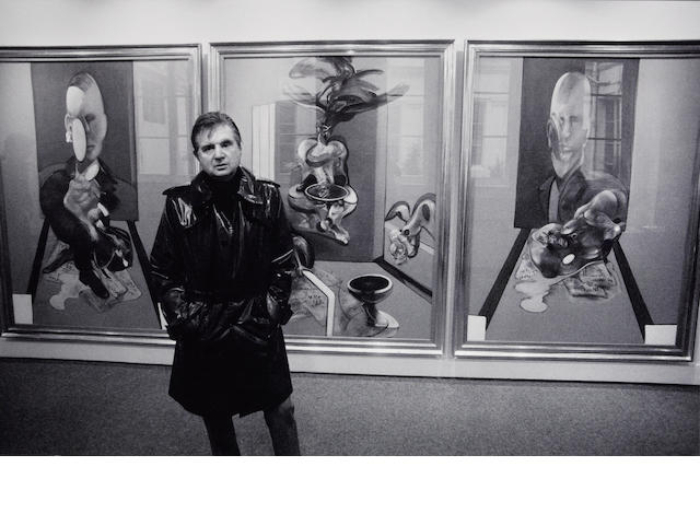 John Minihan (Irish, 1946); Francis Bacon, Paris;
