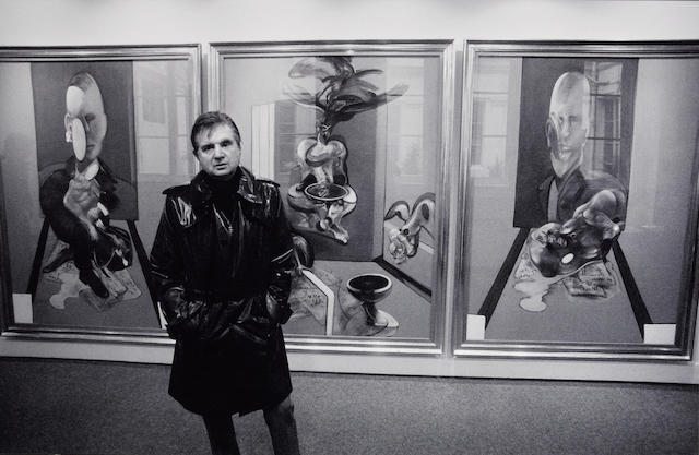 John Minihan (Irish, 1946); Francis Bacon, Paris;