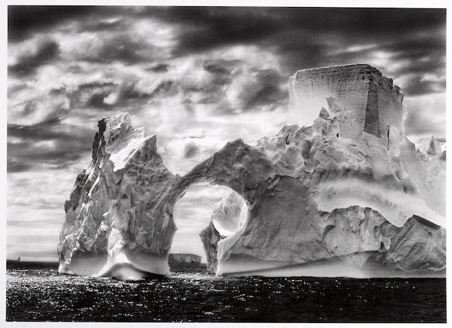 Sebastião Salgado (Brazilian, born 1944); Iceberg between the Paulet Islands and the Shetland Islands, Antarctica;