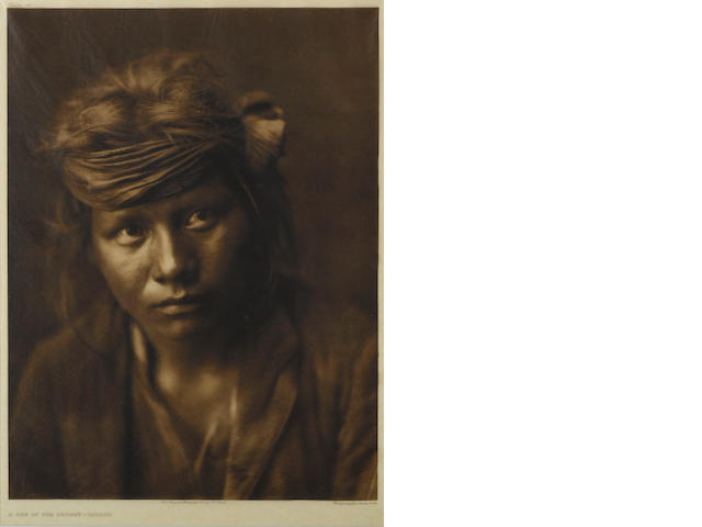 Edward S. Curtis (American, 1868-1952); A Son of the Desert-Navajo;