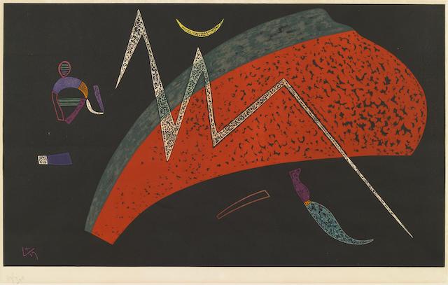 Wassily Kandinsky (Russian, 1866-1944); Watermelon;