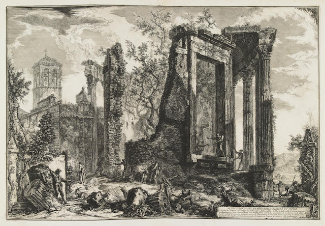 Giovanni Battista Piranesi (Italian, 1720-1778); 19 Plates, from Veduta di Roma; (19)