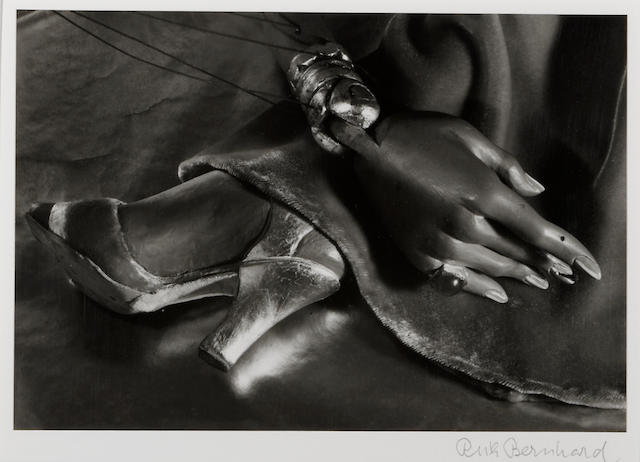 Ruth Bernhard (American, 1905-2006); Puppet Hand and Foot, Hollywood, California;