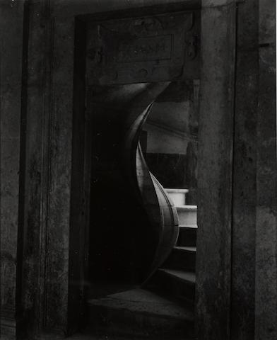 Alma Lavenson (American, 1897-1989); Spiral, Tomar, Portugal;
