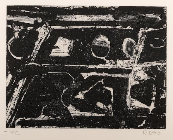 Richard Diebenkorn (American, 1922-1993); Ne Comprend Pas;
