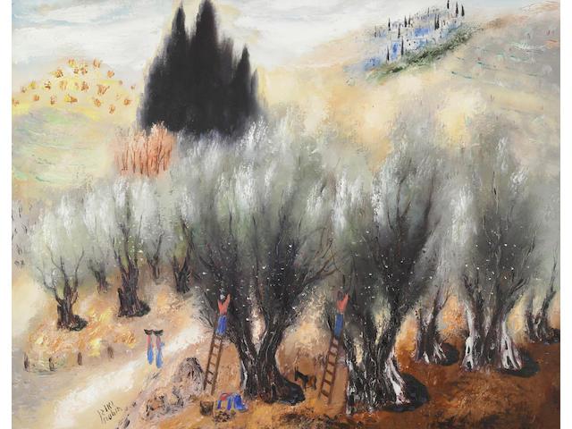 Reuven Rubin (Israeli, 1893-1974) 'Les Oliviers'