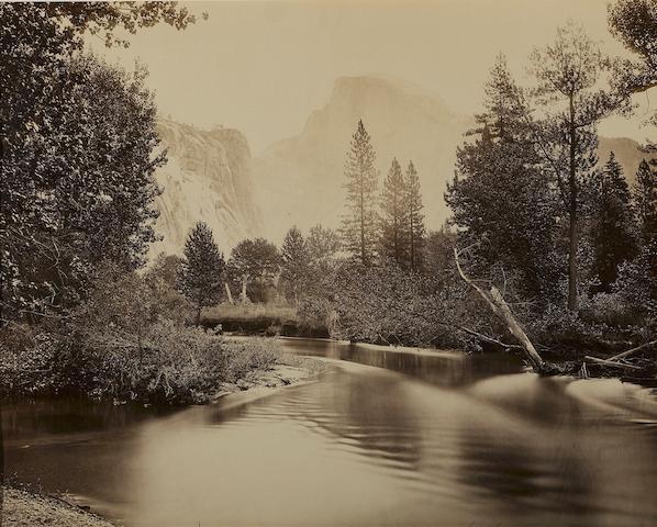 Carleton E. Watkins (American, 1829-1916); Tacoye, The Half-Dome, 5500 feet, Yosemite;