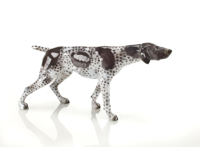 Rosenthal porcelain hunting dog