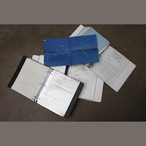 An extensive collection of original Rolls Royce factory papers and correspondence relating to the Springfield factory.