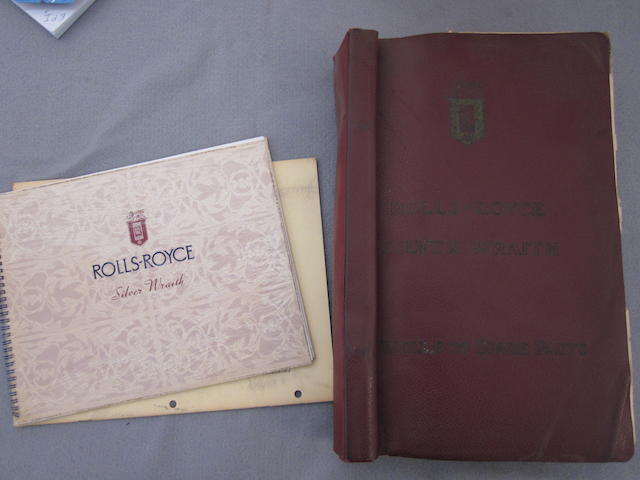 A Silver Waith parts book.