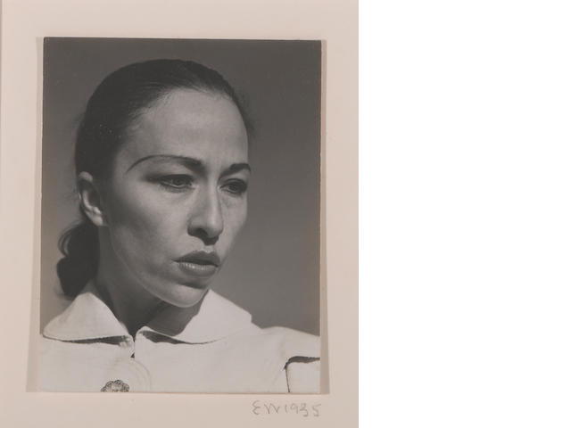 Edward Weston (American, 1886-1958); Carmelita Maracci;