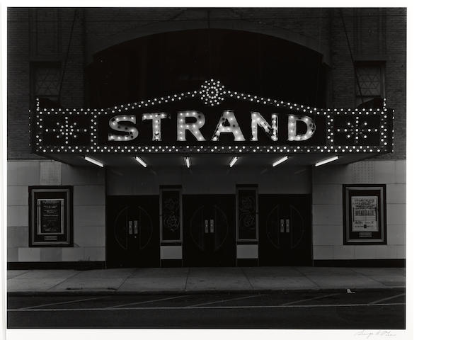 George Tice (American, born 1938); Strand Theater, Keyport, New Jersey;