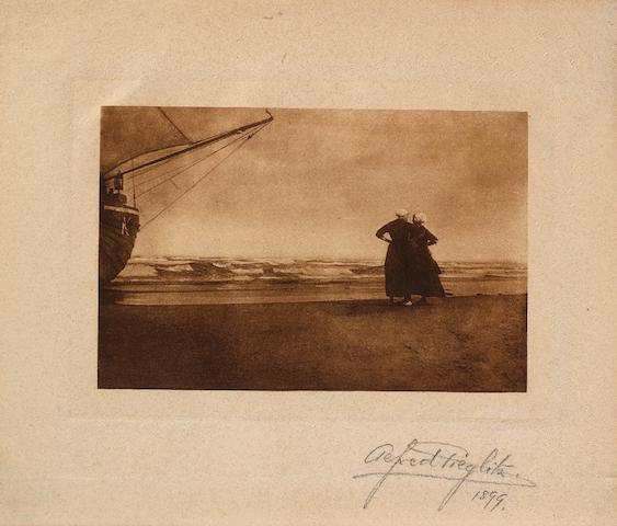 Alfred Stieglitz (American, 1864-1946); Gossip, Katwyck;