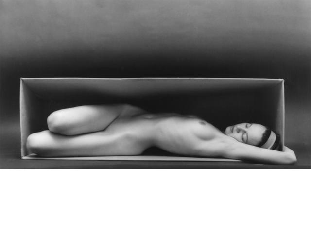 Ruth Bernhard (American, 1905-2006); In the Box-Horizontal;
