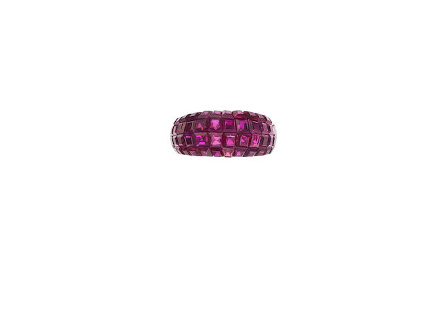 A ruby ring, Van Cleef & Arpels,