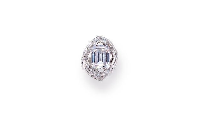 A diamond ring, Sterlé,