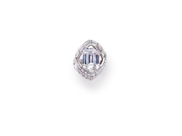 A diamond ring, Sterlé,