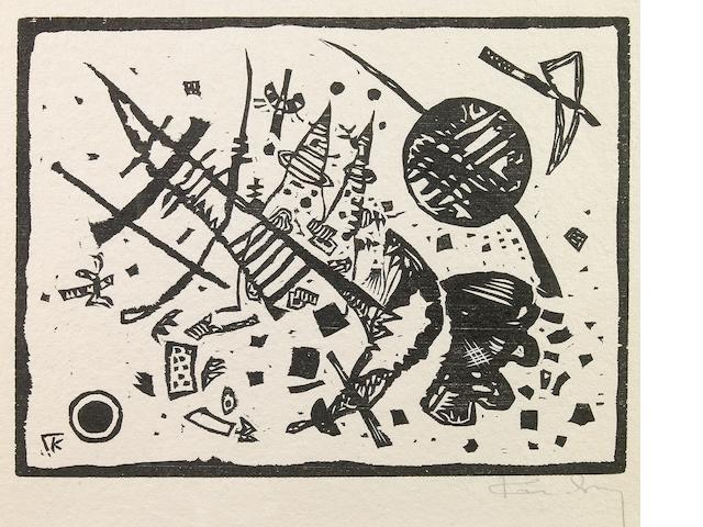 Wassily Kandinsky (Russian, 1866-1944); Untitled, from Ganymed-Mappe Portfolio;