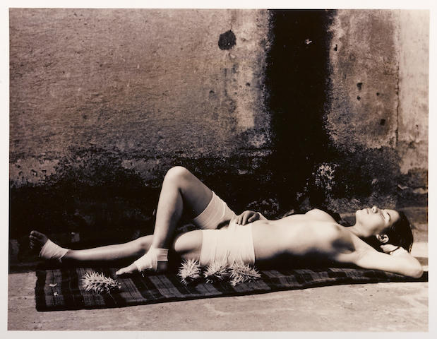 Manuel Alvarez Bravo (Mexican, 1902-2002); La buena fama durmiendo (Good reputation sleeping);